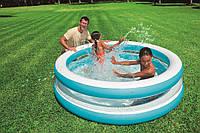 Детский надувной бассейн Intex 57489, можно использовать как манеж, бассейны для детей, Интекс