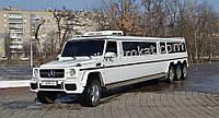 Лимузин Мерседес Гелик 4 оси (Gelandewagen)