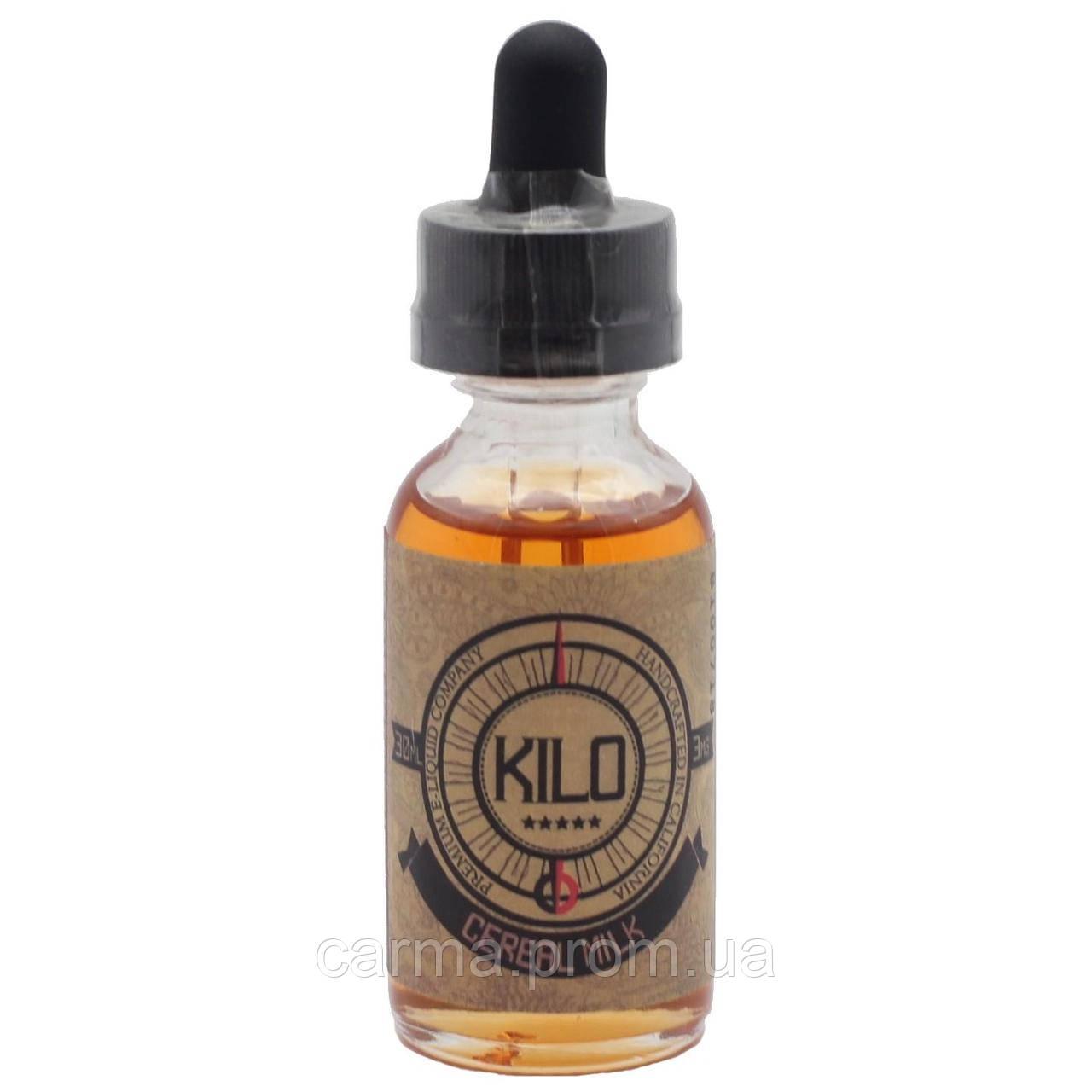 Жидкость для электронных сигарет с никотином VGOD Kilo 3мг 30 мл воплощение фруктовых колечек с молоком