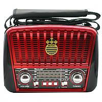 Радиоприёмник Golon RX 456S Solar Красный, фото 1