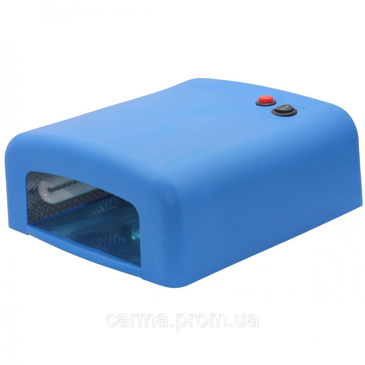 УФ лампа для маникюра ZH 818 36 Вт Синяя