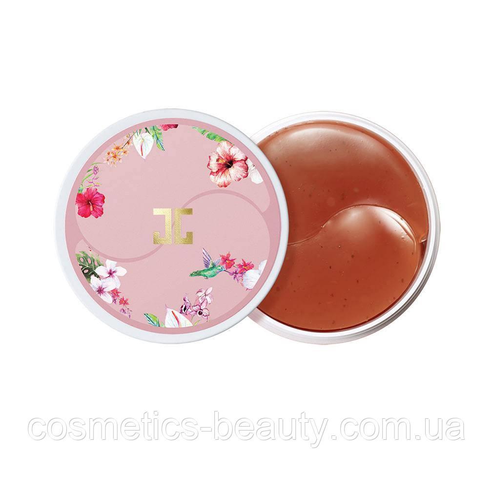 Гидрогелевые патчи с гибискусом JAYJUN – Roselle Tea Eye gel patch