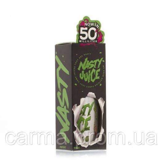 Жидкость для электронных сигарет с никотином Nasty Juice 3мг 50мл Зеленое яблоко ментол