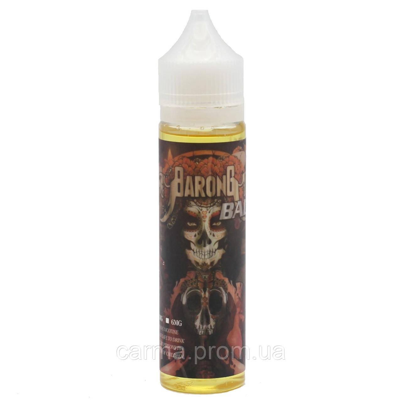 Жидкость для электронных сигарет с никотином Sumber 3мг 60мл сочетание персика и малазийского манго
