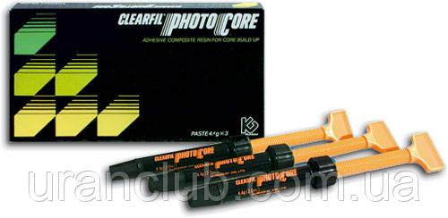 Светоотверждаемый композит Clearfil Photo Core,(Клеарфил фото кор)набор 3 шпр.х4,4 гр.