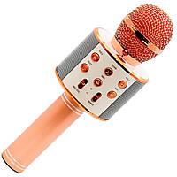 Караоке микрофон KTV WS 858 Розовый, фото 1