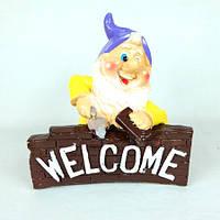 Гном строитель Welcome