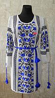 Туника-вышиванка Волошки  ( вязка) 25520, фото 1