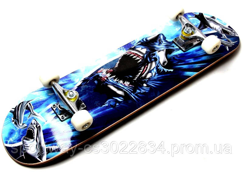 Скейт Cool Shark до 80 кг.
