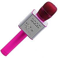 Караоке микрофон KTV Q9 Розовый, фото 1