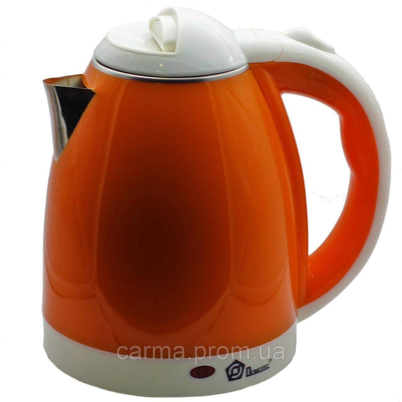 Электрочайник Domotec MS 5022 Оранжевый