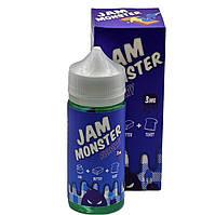 Жидкость для электронных сигарет с никотином Jam Monster Blueberry 3 мг 100 мл