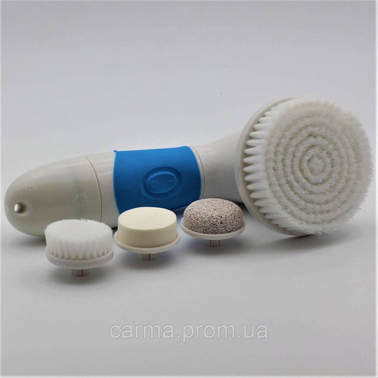 Набор для глубокого очищения кожи лица и тела SPA-FX 4 насадки