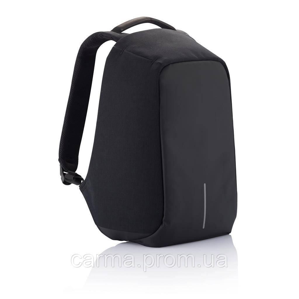 Рюкзак антивор Bobby с защитой от карманников с USB портом Черный