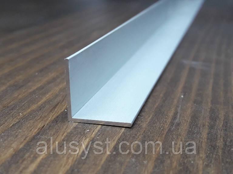 Уголок 15х15х1, алюминий, анод