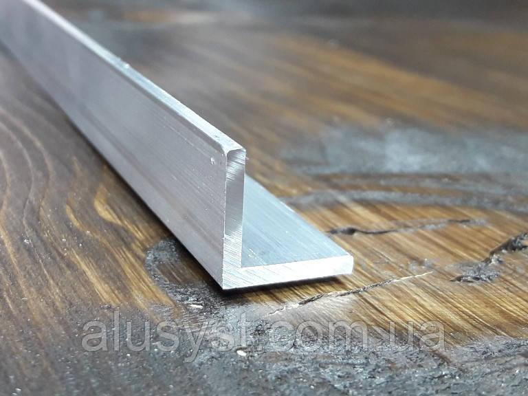 Уголок 15х15х2, алюминий, без покрытия