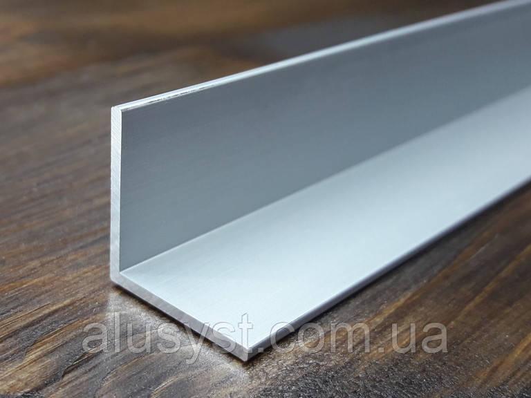 Уголок алюминий, анод 20х20х1,5