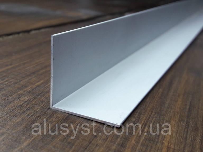 Уголок 25х25х1 алюминий, анод