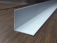 Уголок 25х25х1 алюминий, анод, фото 1