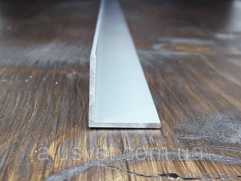 Уголок 25х25х1,5 алюминий, анод