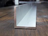 Уголок 25х25х2 алюминий, анод, фото 1