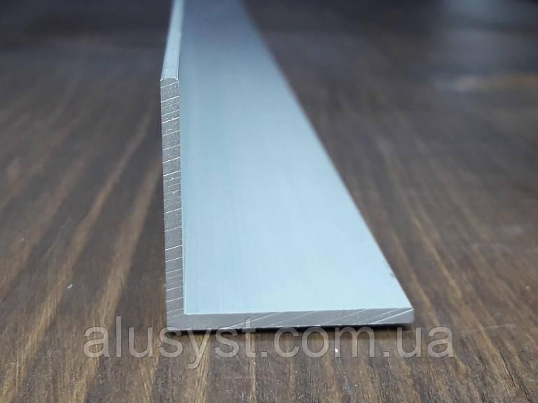 Уголок 30х30х2 алюминий, анод