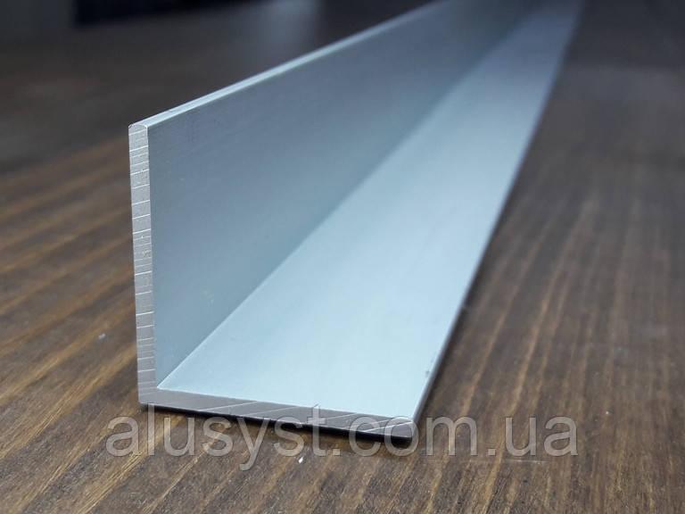 Уголок 50х50х2 алюминий, анод