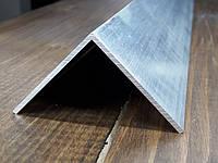 Уголок50х50х2 алюминий, без покрытия, фото 1