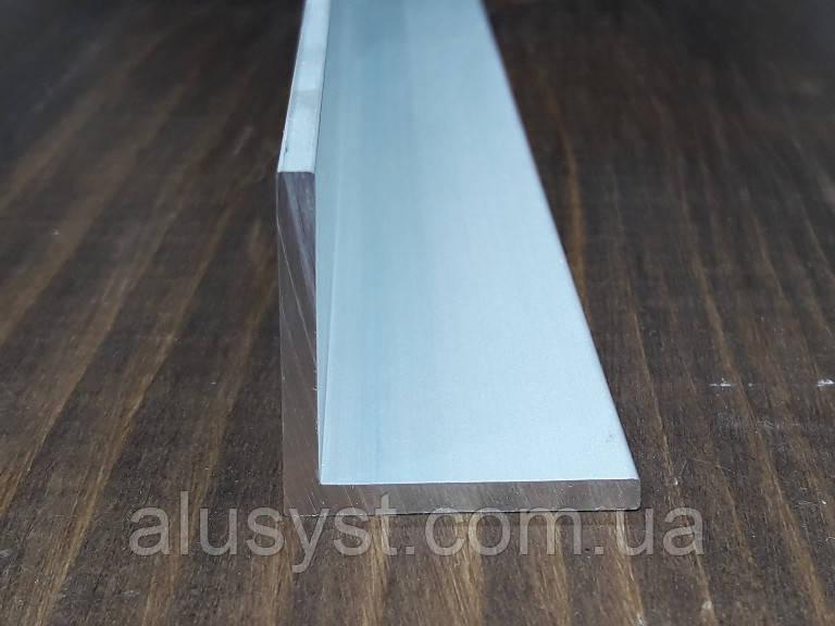 Уголок 50х50х3 алюминий, анод