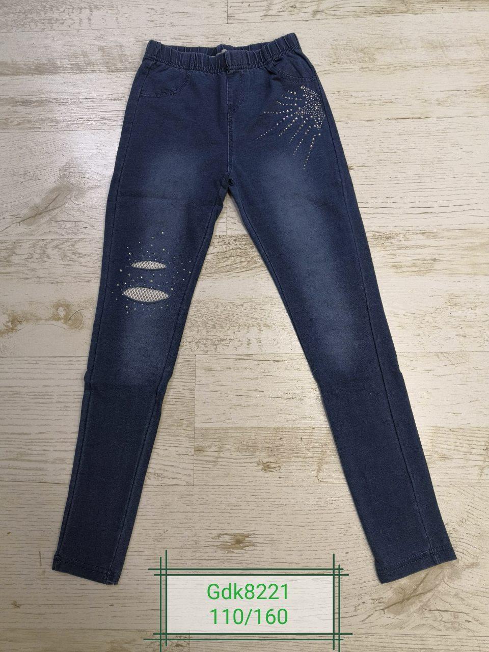 Лосины под джинс для девочек оптом, размеры 110-160р Glo-Story, арт. GDK-8221
