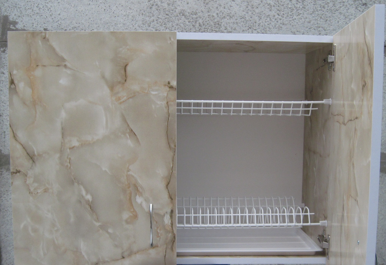 Сушка для посуды 80см в шкафу с петлями