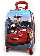 """Детский чемодан дорожный """"Josef Otten"""" Cars-3 на четырех колесах 520273"""