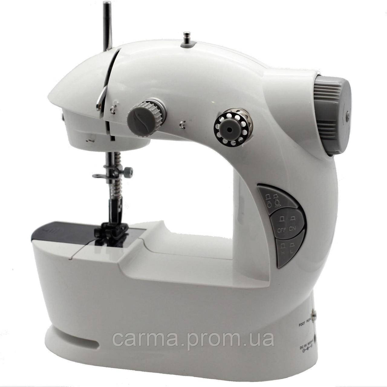 Швейная машинка Mini Sewing Mashine 4в1 Белая