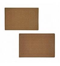 Придверні килимок з ворсом без кромки МД бежевий