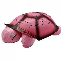 Проектор звездного неба Turtle Черепаха музыкальная Розовая