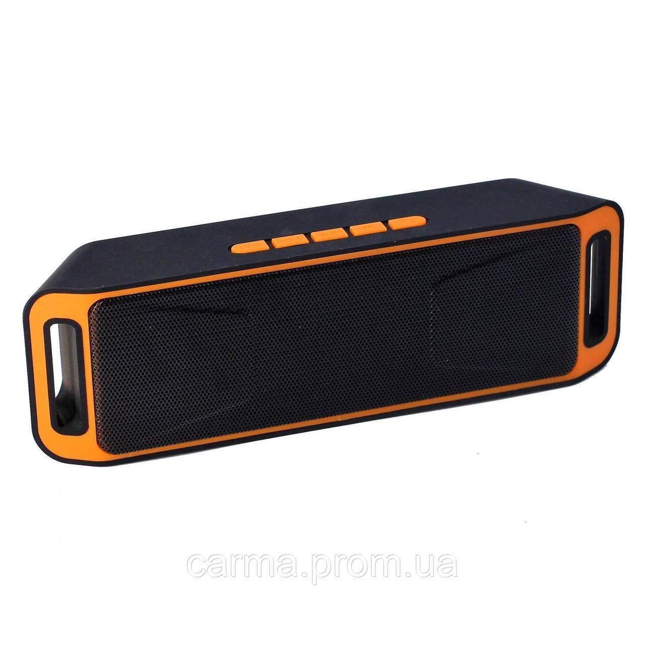 Портативная колонка SVN SC 208 Оранжевая