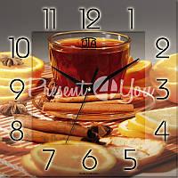 Настенные часы Panorama 'Ароматный чай' 300Х300Х16мм