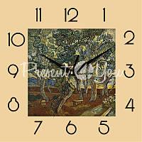 Настенные часы Panorama 'Ван Гог - Сад Святого Павла в больнице' 300Х300Х27мм