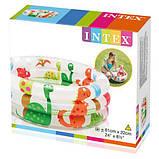 Детский надувной бассейн «Динозаврики» Intex 57106, детские бассейны Интекс, фото 2
