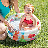 Детский надувной бассейн «Динозаврики» Intex 57106, детские бассейны Интекс, фото 4