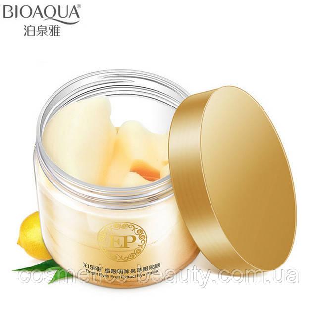 Омолаживающие патчи для кожи вокруг глаз с экстрактом лимона BIOAQUA EP.