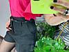 Женские шорты на подкладке с поясом и карманами. Д-28-0319, фото 3