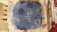 Накидка с поролоном на резинке для табурета Осень