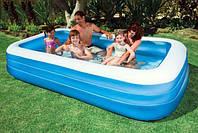 Детский надувной бассейн Intex 58484 – Family Pool (Фемели Пул), детские бассейны Интекс