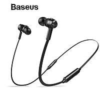Оригинальные Bluetooth наушники гарнитура Baseus Encok S06 Black