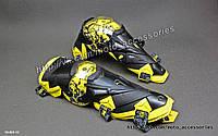 Шарнирные наколенники Scoyco K12 (Черно-желтые), фото 1