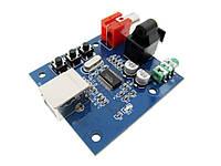 Звуковая карта ЦАП PCM2704 USB
