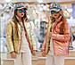 """Детская стильная двухсторонняя куртка демисезон 188 """"Подросток Металлик Двухцвет"""" в расцветках, фото 3"""