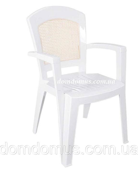 """Кресло пластиковое """"Aspendos"""" 52*48*90 см, Irak Plastik, Турция"""
