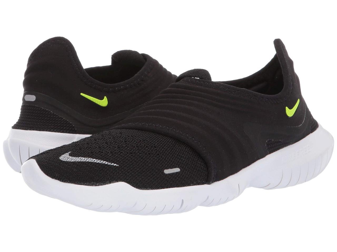 262fb561 Кроссовки/Кеды (Оригинал) Nike Free RN Flyknit 3.0 Black/Volt/White ...